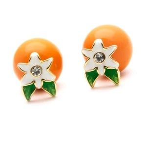 Kate Spade Orange Blossom Citrus Crush Earrings